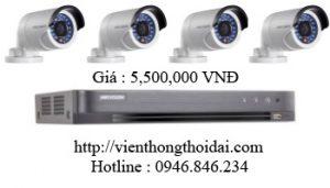 khuyến mãi lắp đặt trọn bộ camera hikvision giá rẻ tại tphcm