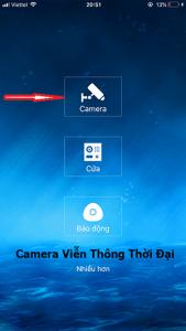 Chọn ứng dụng xem camera kbvision