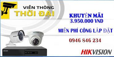 trọn bộ camera hikvision giá rẻ nhất