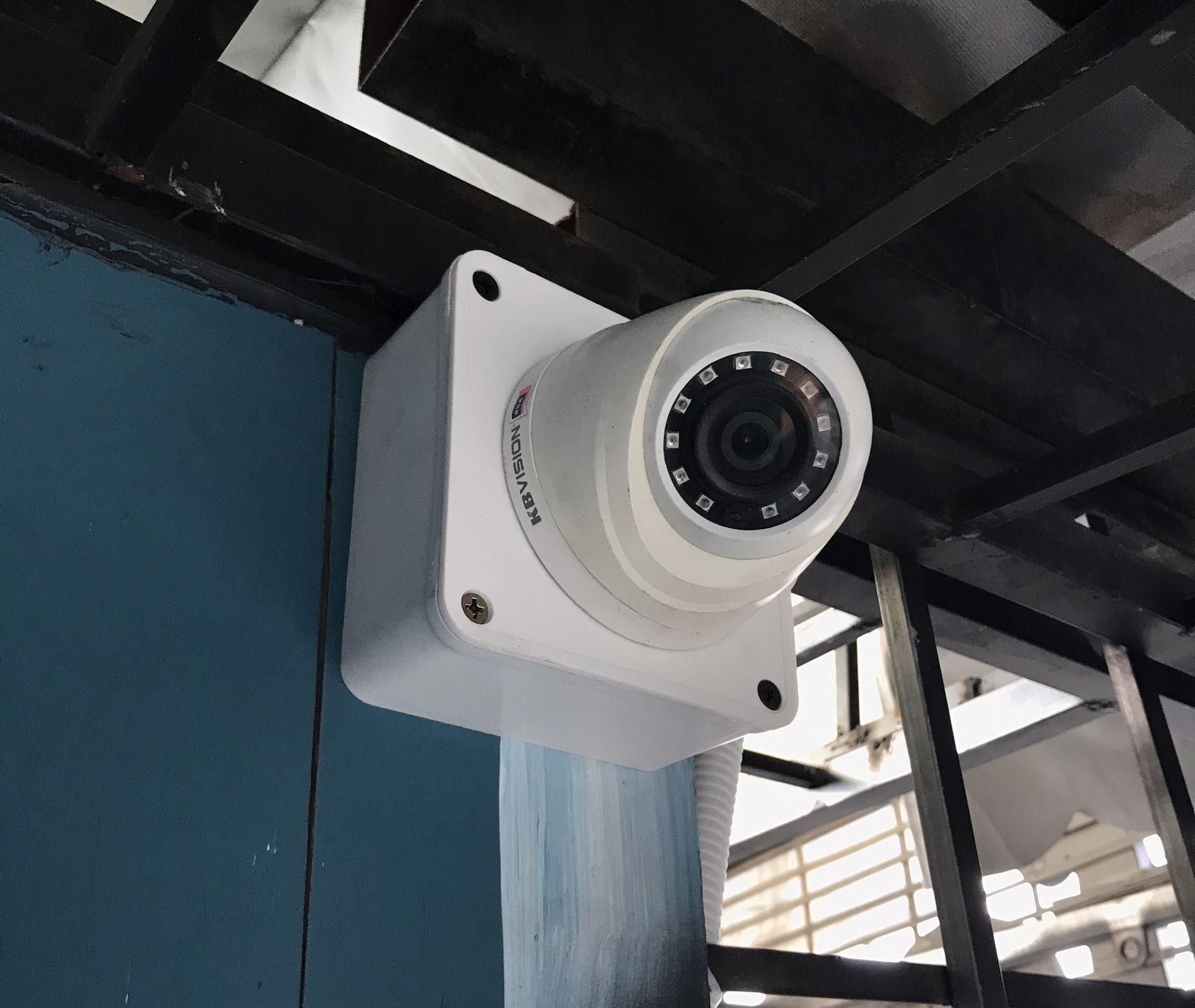 Hình ảnh lắp đặt camera kbvision