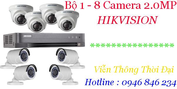 Bộ camera hikvision tại bình tân
