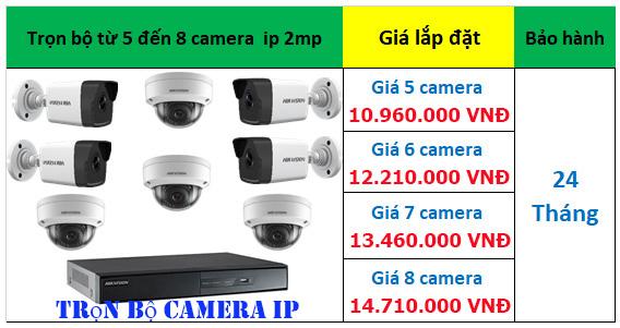 lắp đặt trọn bộ camera ip hikvision giá rẻ