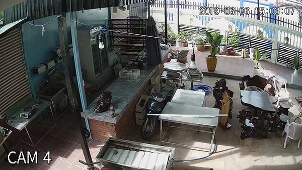 Hình ảnh lắp camera tại quán cà phê