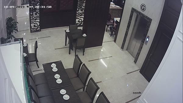 Lắp đặt camera khu vực nhà hàng của khách sạn