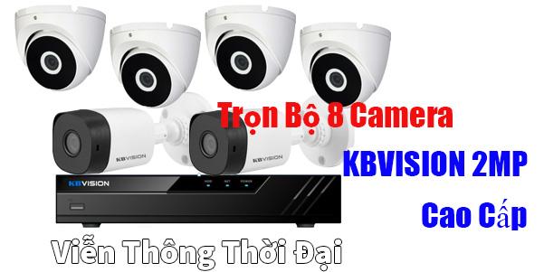 Lắp đặt gói camera kbvision 2mp