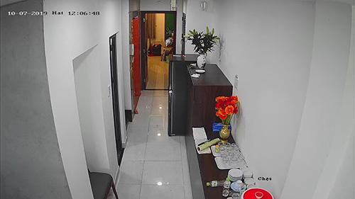 Hình ảnh lắp đặt camera cho khách sạn tại quận 2