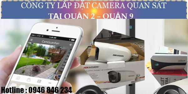 Địa chỉ thi công hệ thống camera tại quận 2 - Quận 9