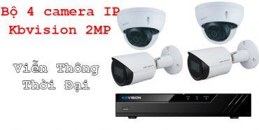 Lắp đặt trọn bộ camera IP thương hiệu KBVISION