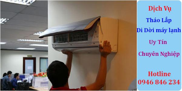Dịch vụ tháo lắp di dời máy lạnh tại TPHCM