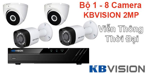 Bảng giá lắp đặt gói camera giám sát kbvision